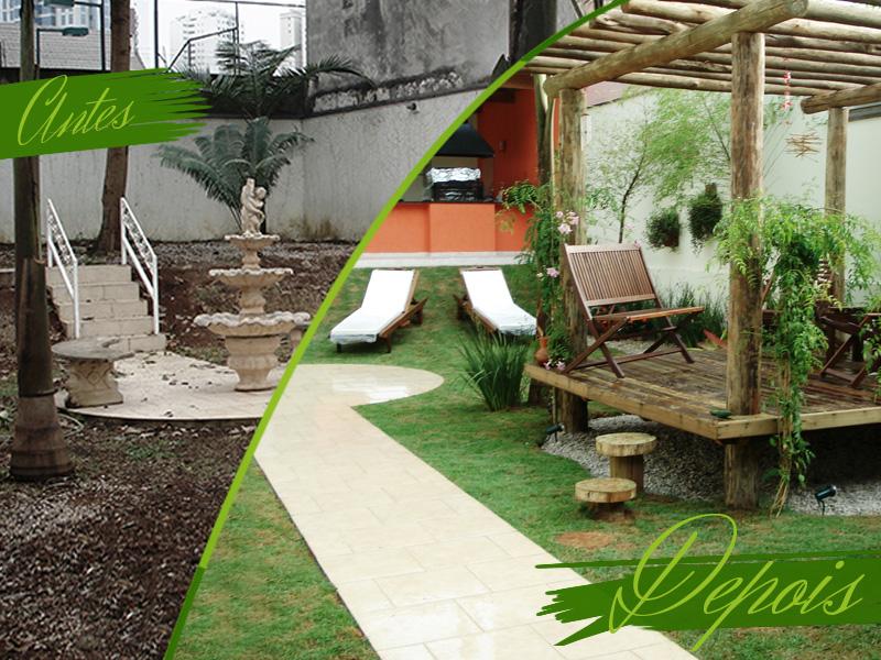 Um Estar no seu Jardim – Antes & Depois